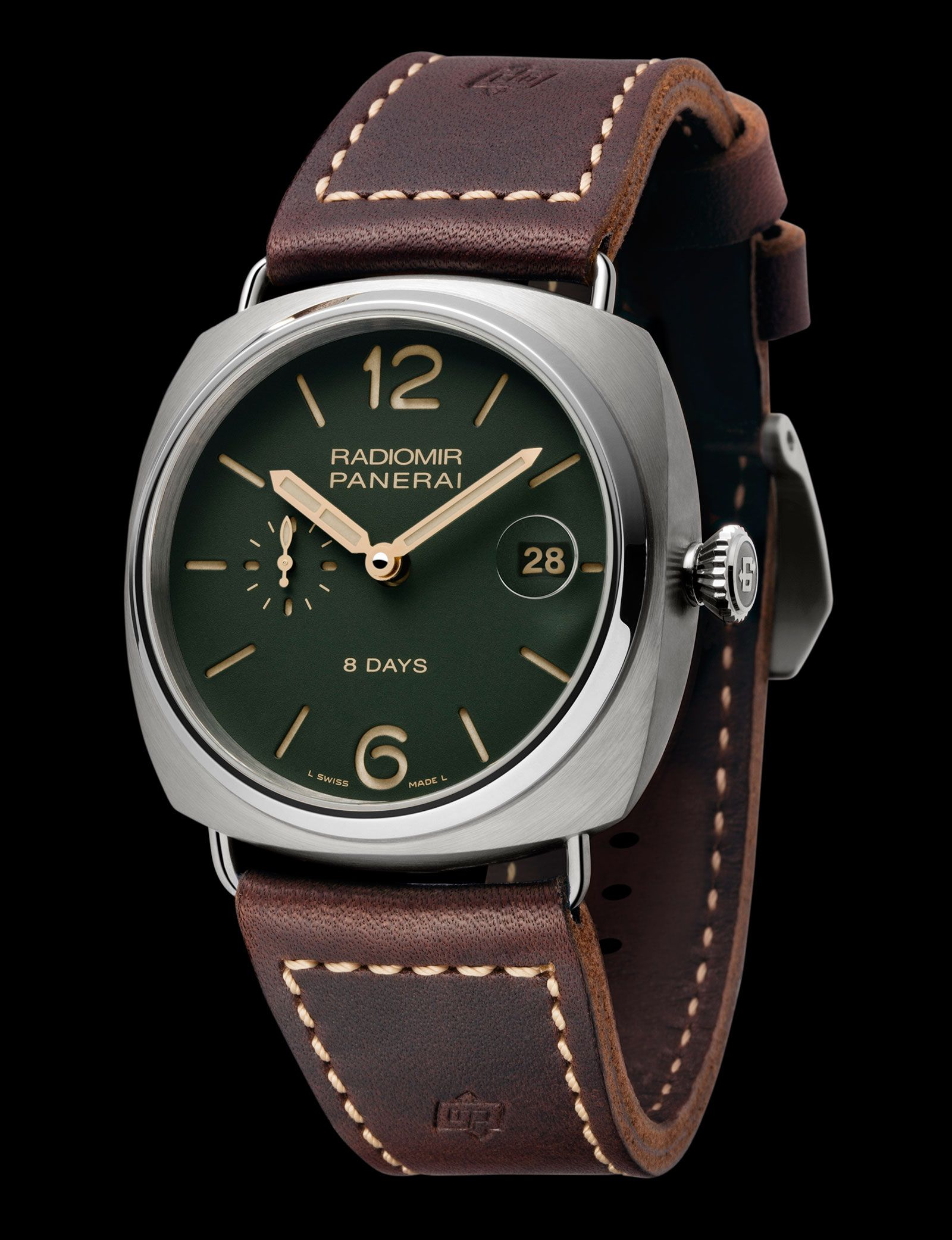 watches dial wound mens panerai hand frontpa black enlarge en click ch stainless to male officine watch bucherer steel luminor officinepanerai