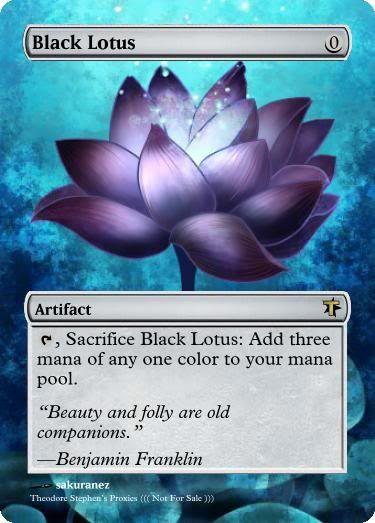 Magic The Gathering Black Lotus Proxy Magic The Gathering Proxys
