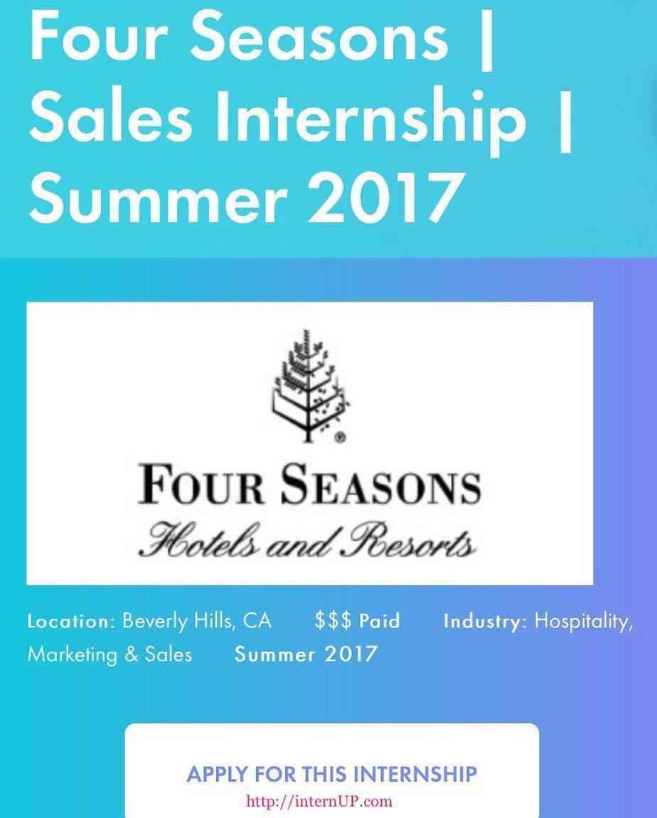 PAID internship LosAngeles Worldwide Sales Office.