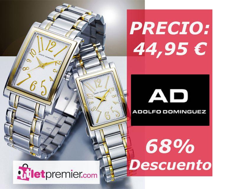 Dos relojes #Adolfodominguez a un precio increíble en nuestro #outlet