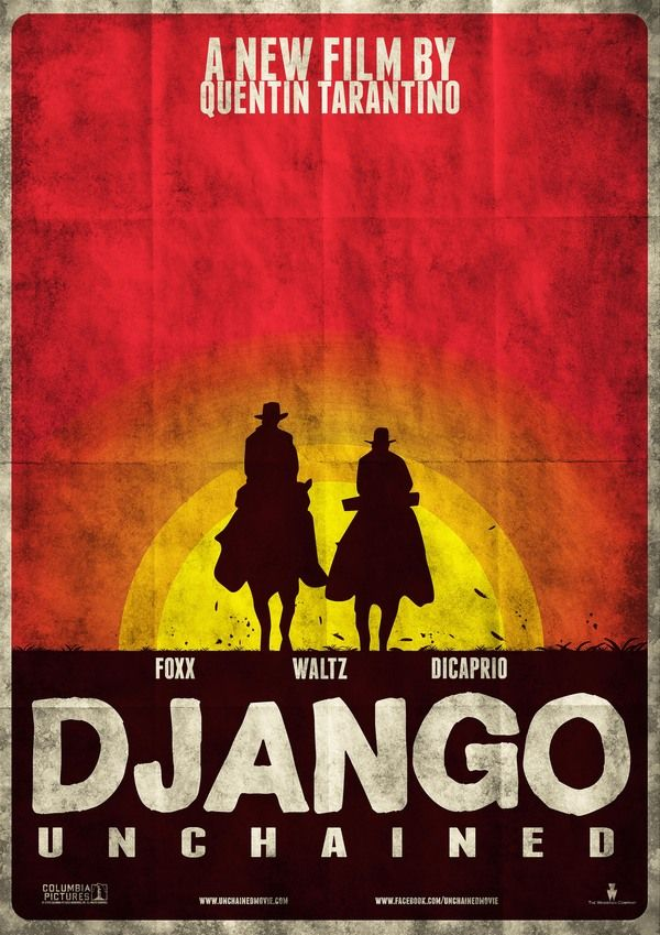 django unchained poster - Google Search