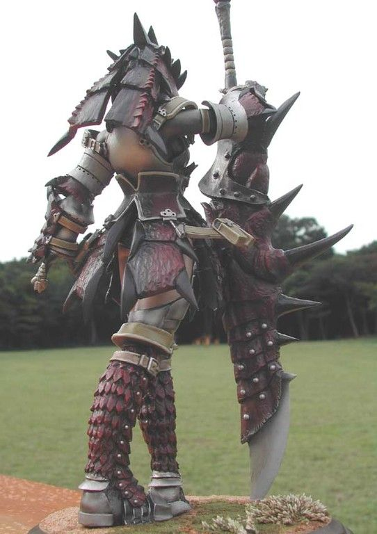 Cosplay Armor Rathalos Reference 002 Monster Hunter Cosplay