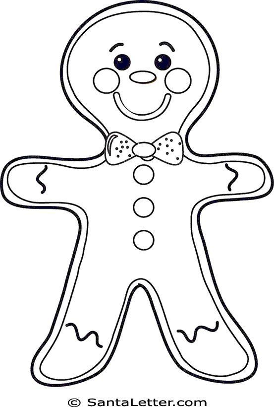 28 Places To Print Free Christmas Coloring Pages Free Christmas Coloring Pages Printable Christmas Coloring Pages Gingerbread Man Coloring Page