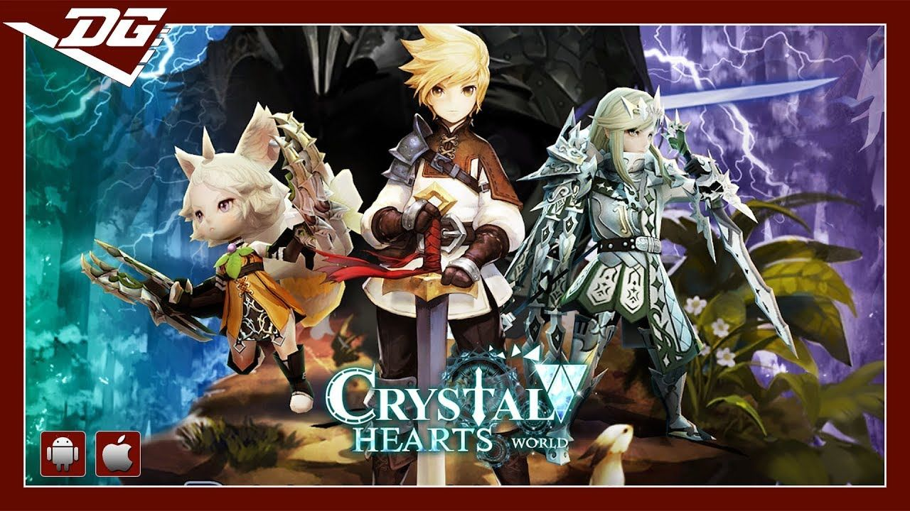 Crystal Hearts World (EN) (iOS / Android) Gameplay ᴴᴰ