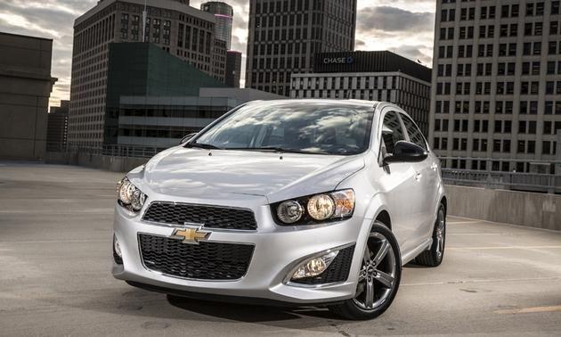 2014 Chevrolet Sonic Rs Sedan Review Notes Chevrolet Sonic