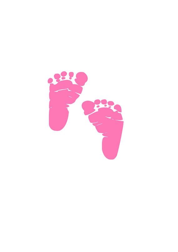 Baby Feet Svg Free : CRICUT