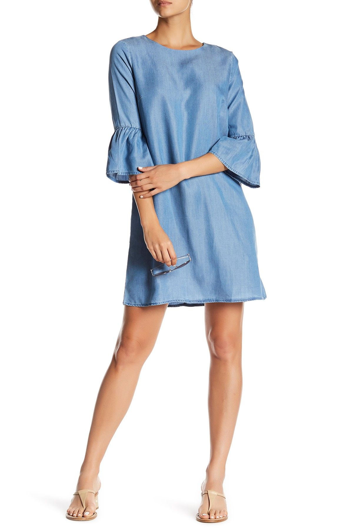08c78c9f5 Super cute chambray dress from Nordstrom Rack (in stock as of 10 13)