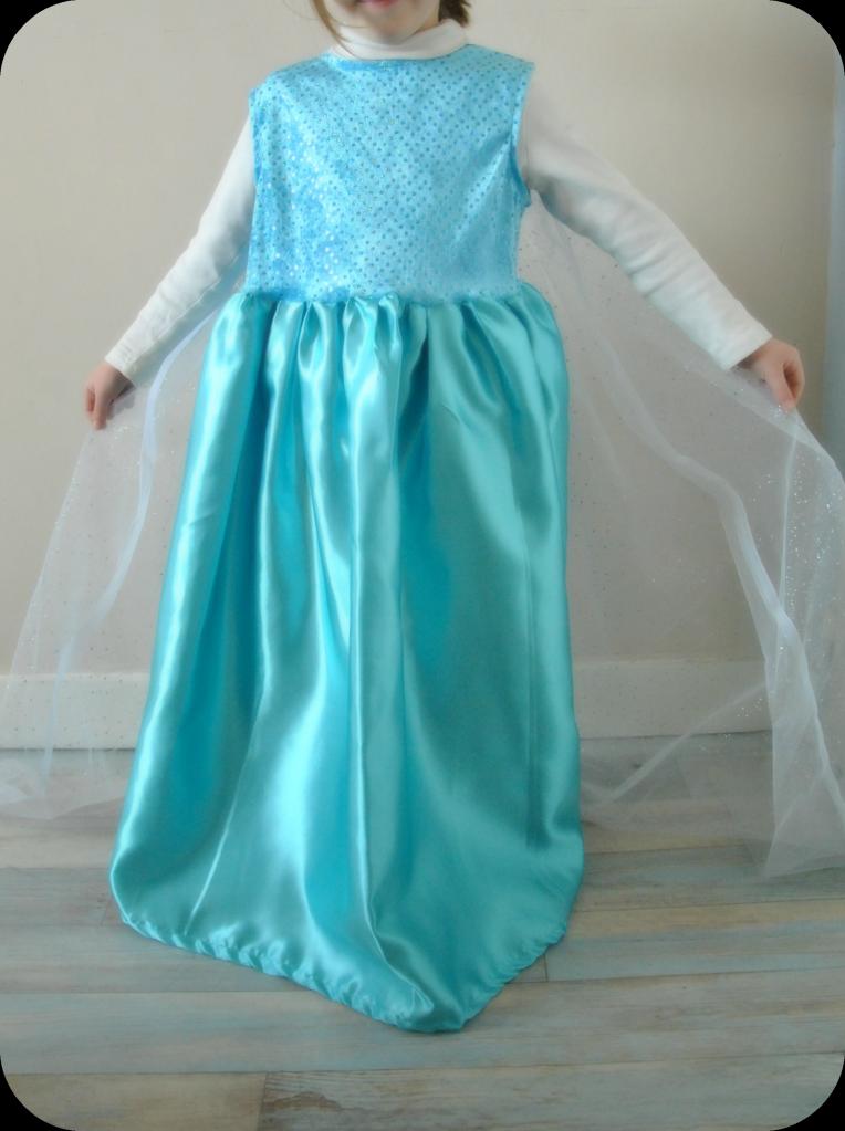 Robe elsa la reine des neiges disney homemade reine - Robe de anna reine des neiges ...