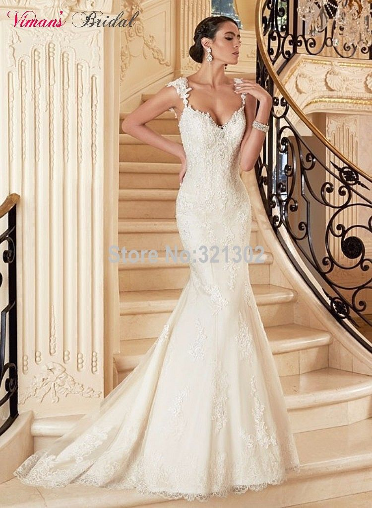 2015-Free-Shipping-Lace-Mermaid-Sweetheart-Wedding-Dresses-Open-Back ...