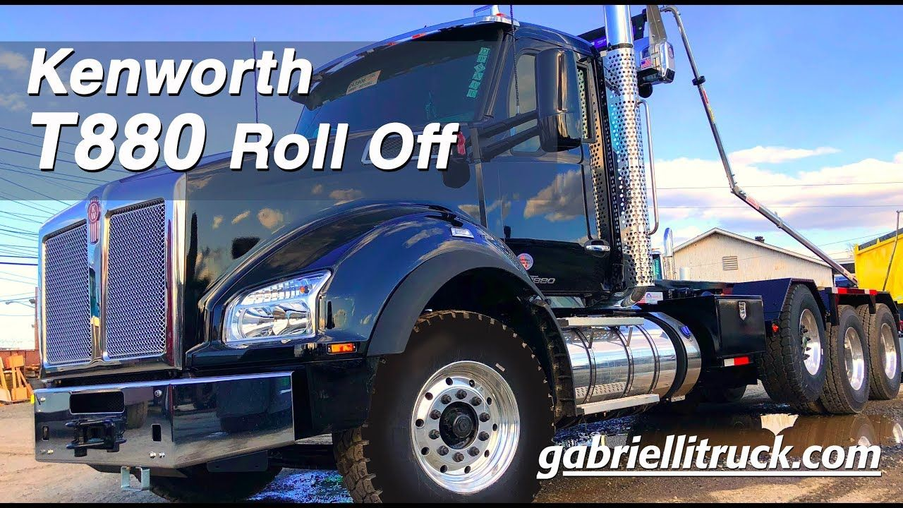 Gabrielli Truck Sales >> New Kenworth T880 Tri Axle Roll Off Truck For Sale | T880 ...