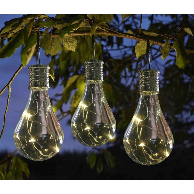 Eureka Original Dobbies Garden Centres Solar Light Bulb