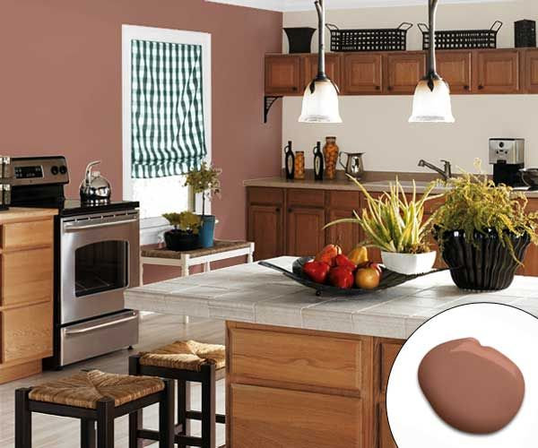 Best Paint For Kitchen Walls: Color Of The Month, October 2014: Cognac