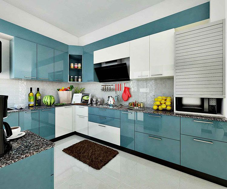 ... Cost Of Modular Kitchen In Bangalore, Add Elegance To Your Kitchen By  Getting It Designed By Magnon India , We Provide The Best Modular Kitchen  Designs ...