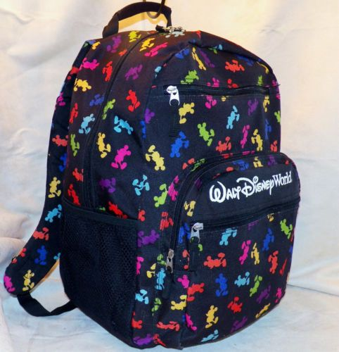 ef9fbf646f Walt-Disney-World-Theme-Parks-Exclusive-Promotional-Mickey-Mouse-Icon- Backpack