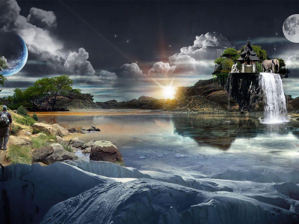 صور ثلاثية الابعاد منوعة جميلة جدآ World Wallpaper Scenery Wallpaper Scenery