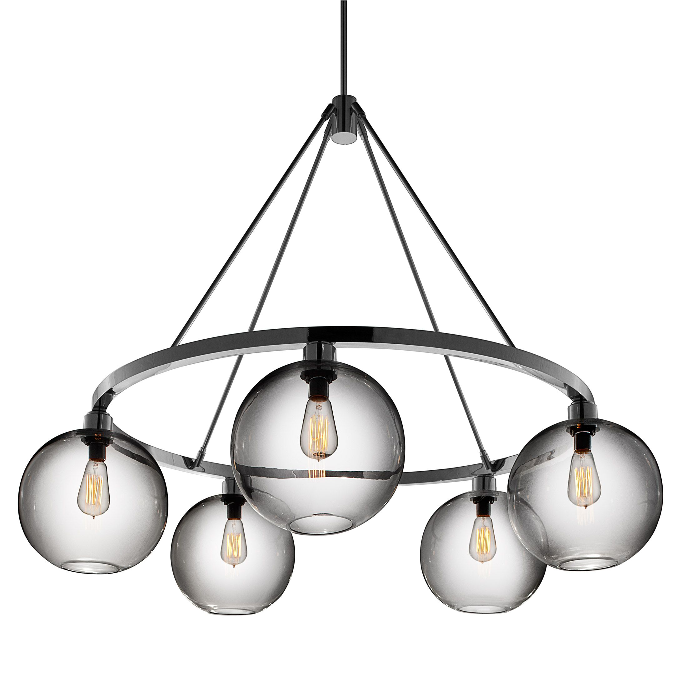niche modern lighting. Niche Modern Lighting. Sola 36 Chandelier (Solitaire Pendant In Crystal) From Lighting E