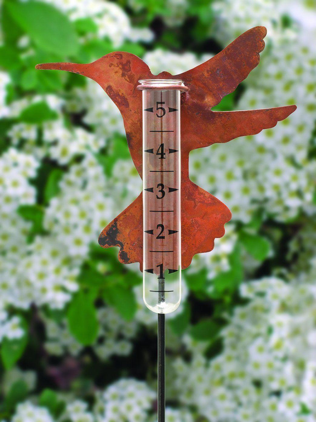 Hummingbird Rain Gauge With Images