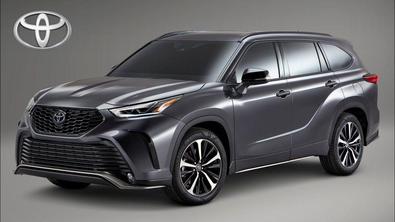 2021 Toyota Highlander Xse In 2020 Toyota Highlander Interior Toyota Highlander Toyota