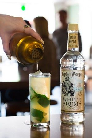 mojito captain morgan recept