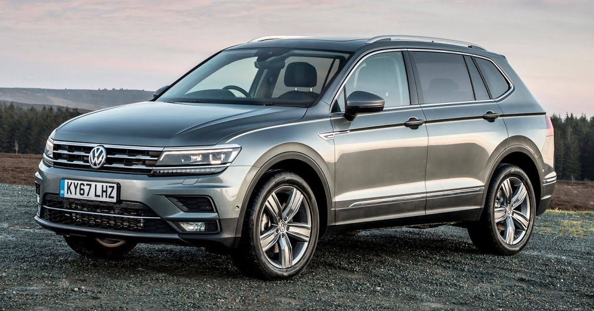 Longer Vw Tiguan Allspace 7 Seater Arrives In Uk Starting At 29 370 Carscoops Volkswagen Seven Seater Suv 7 Seater Suv