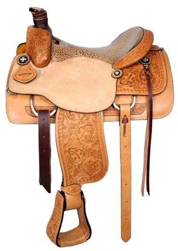 3bb40d2e7acb3 Circle S Roping saddle With Alligator Print Seat