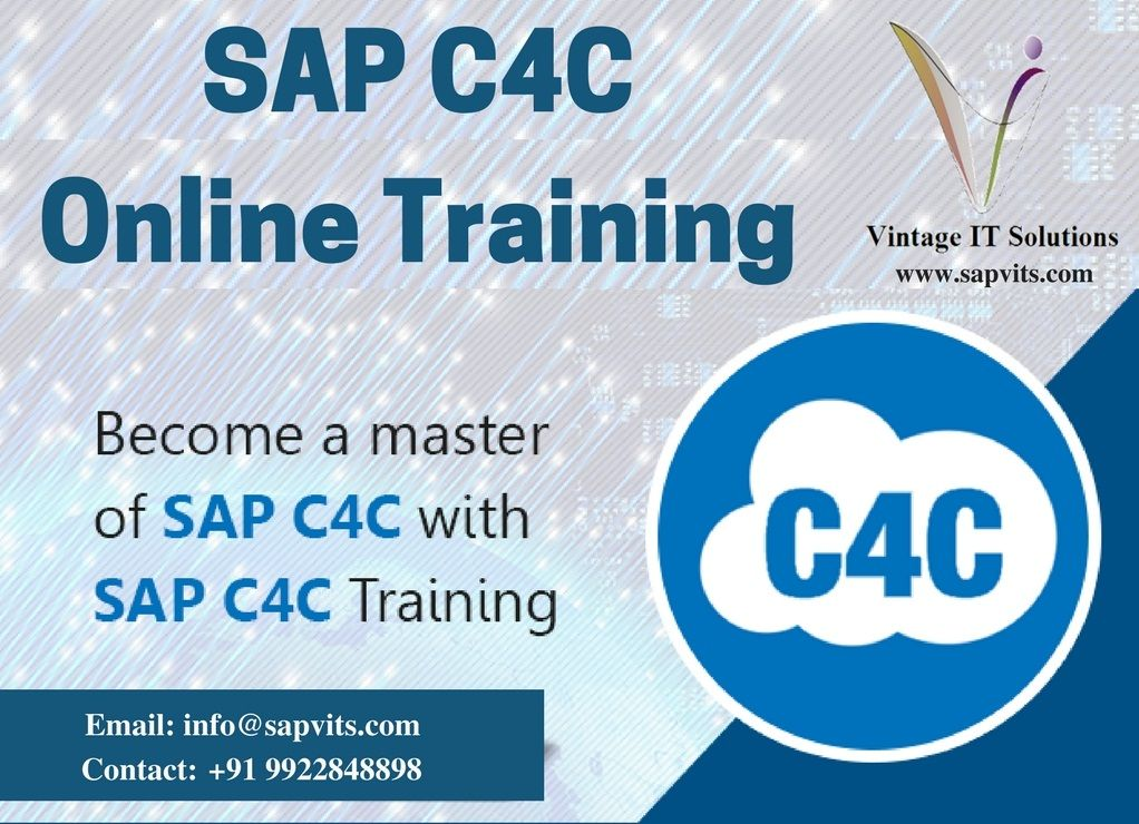 SAP C4C Online Training Courses in Hyderabad India Online training - best of business blueprint sap co