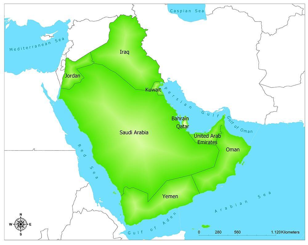 Mekka I Saudi Arabien Kort Mekka I Saudi Arabien Kort Saudi