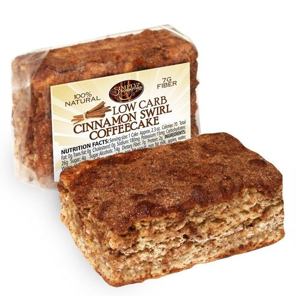 Simply Scrumptous Low Carb Fat Free Cinnamon Swirl Coffee Cake ($32) ❤ liked on Polyvore featuring home and kitchen & dining