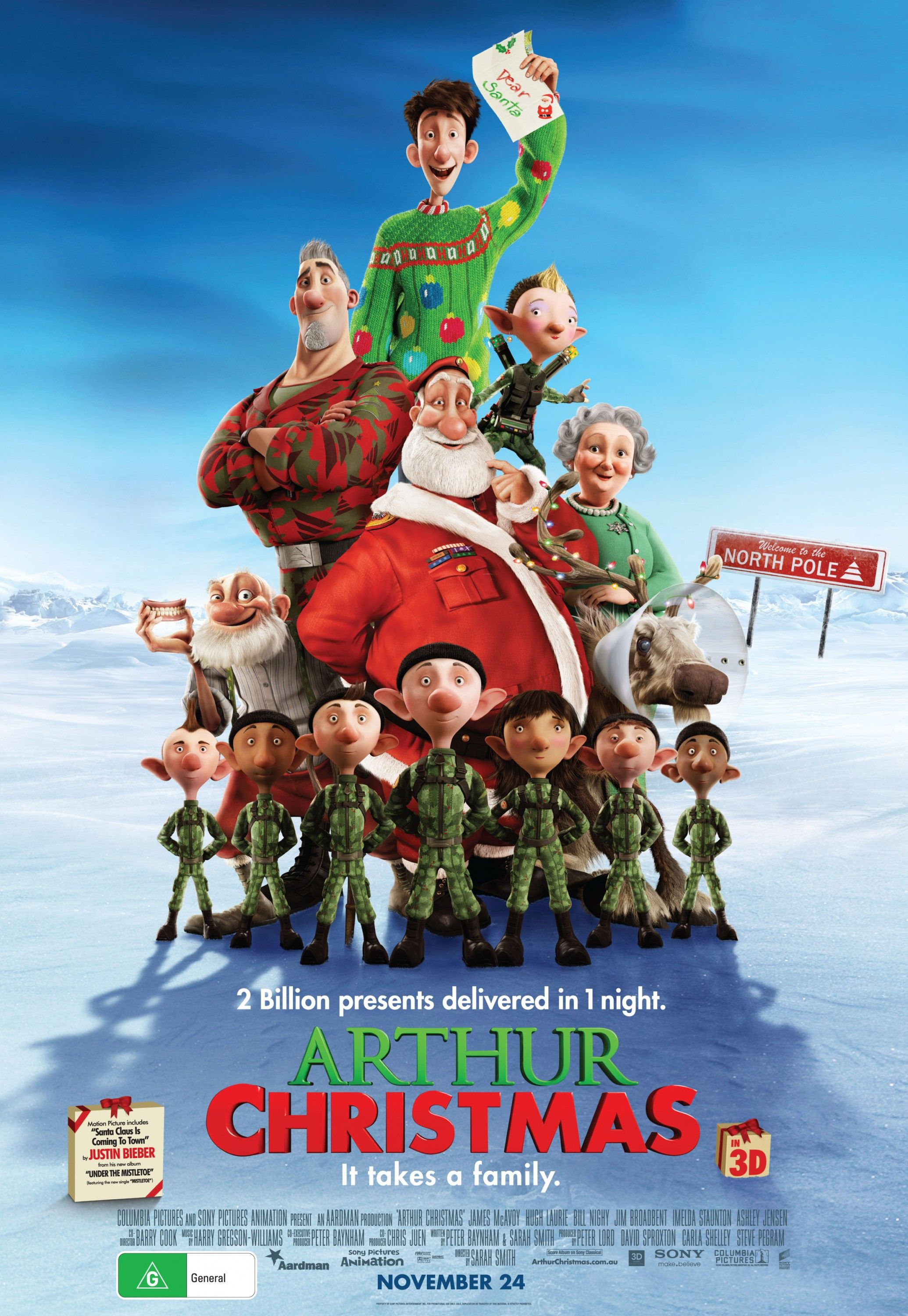 83. Adorable christmas movie. Very funny as well | Christmas Movie ...