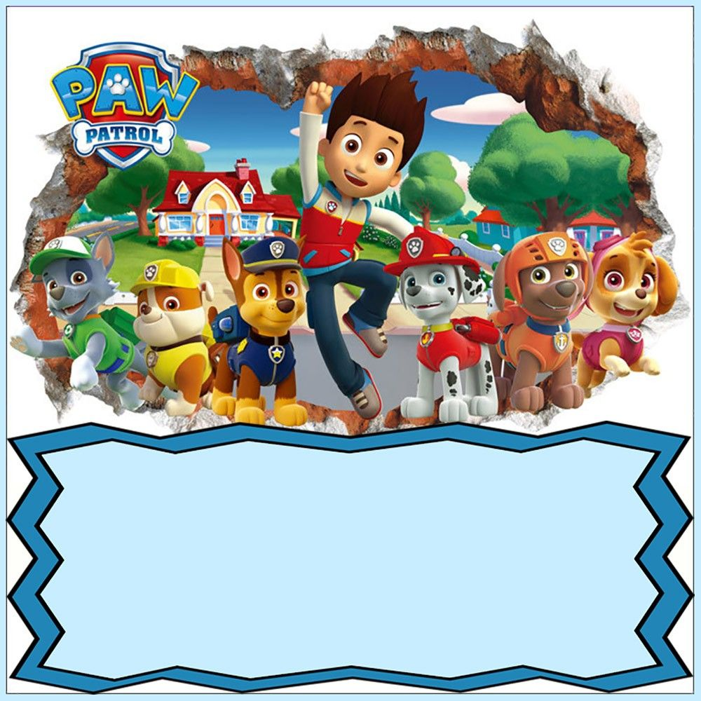 photograph regarding Paw Patrol Printable Birthday Card titled Paw Patrol Invitation Card Design and style Coolest Invitation