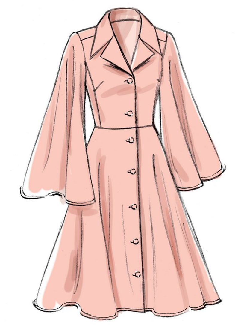 Vogue Easy Options Womens Dress Sewing Pattern, 9345
