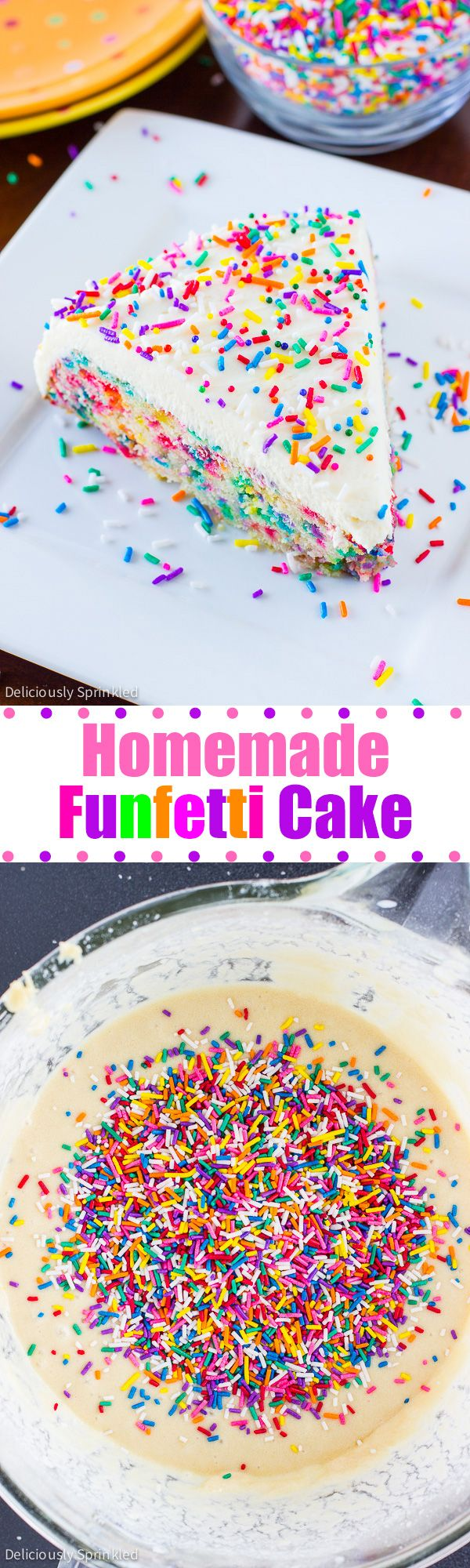 how to make funfetti icing