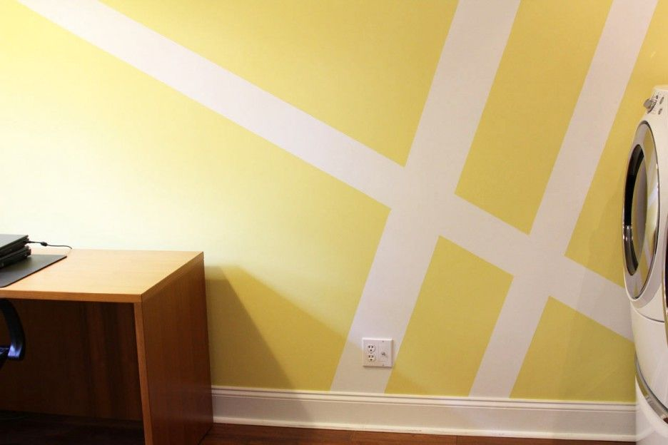Decorating. Geometric Styles For Elegant Design Wall Paint ...