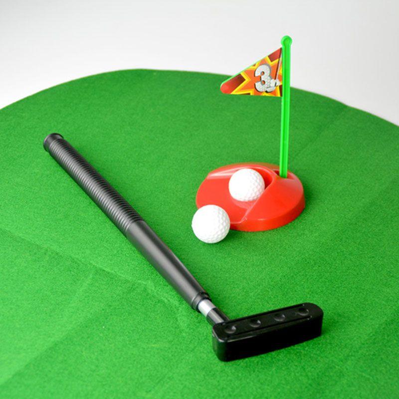Toilet Bathroom Mini Golf Game Toys Novelty Gift Practice Models For ...
