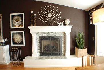 Tile Fireplace Design Ideas, Pictures, Remodel, and Decor - page 7 ...