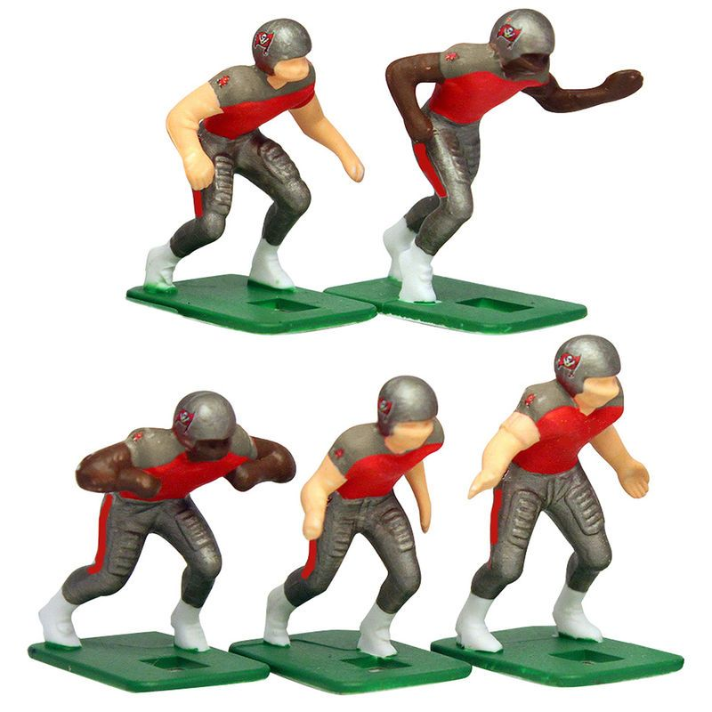 Tampa Bay Buccaneers Dark Uniform Action Figures Set