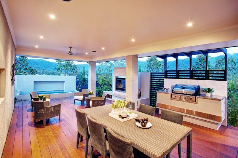 Love this alfresco area havana one display home brooks for Outdoor alfresco designs