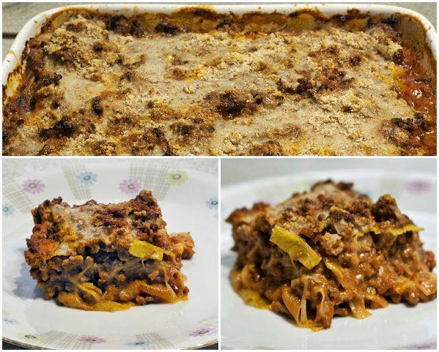 Lasagne med porrer