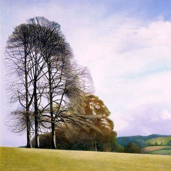 annie ovenden art | ... Morning in Lanhydrock Park - art print by artist Annie Ovenden