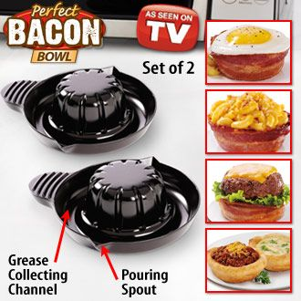 perfect bacon bowl | MICROWAVABLE: Things for Microwave Oven