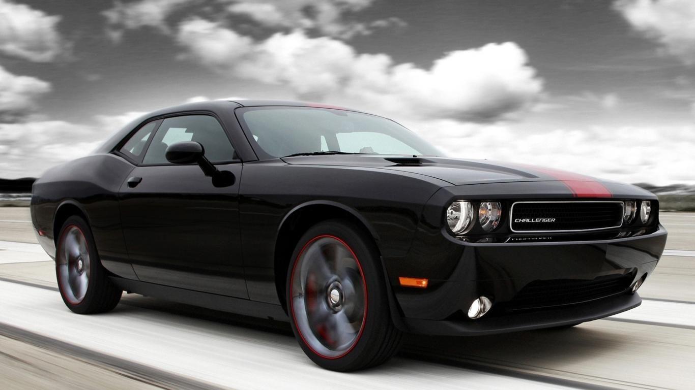 Dodge Challenger Rallye Redline Chuck Muscle Car Black Wallpapers