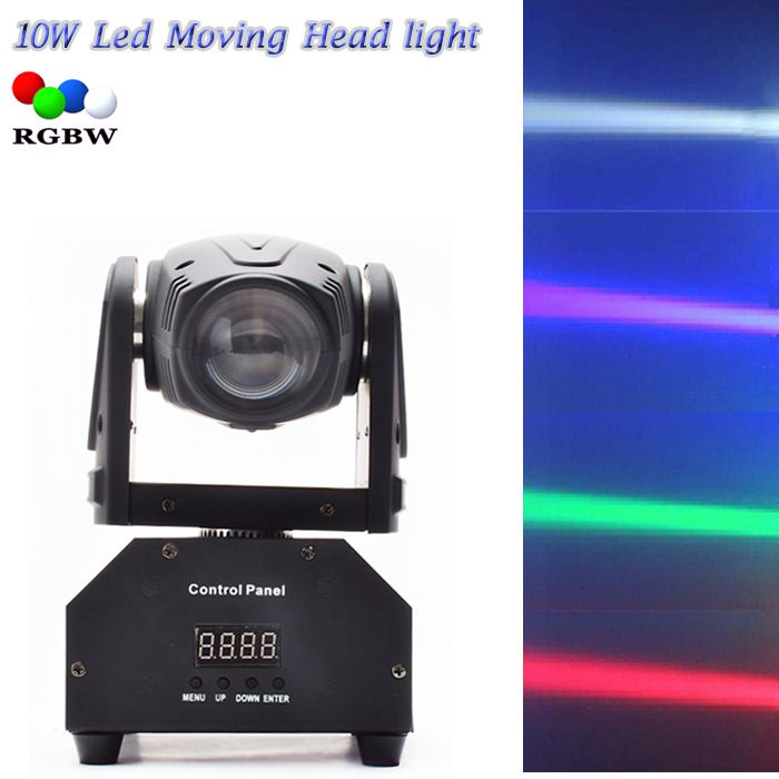 $106.62 (Buy here: http://appdeal.ru/ctqa ) Eyourlife 10W LED Stage DJ Lighting Moving Head DMX 512 Light Beam For For Stage Party Light High Quality Disco Effect Light for just $106.62