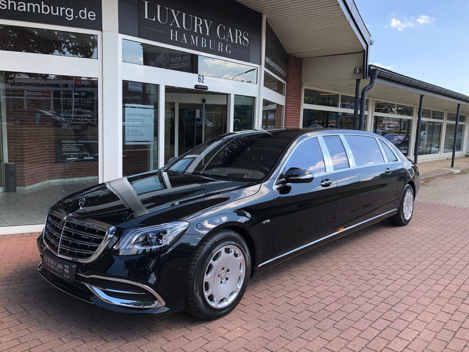 Photo of Mercedes-Maybach S 600 Pullman – Luxury Pulse Cars – Germany