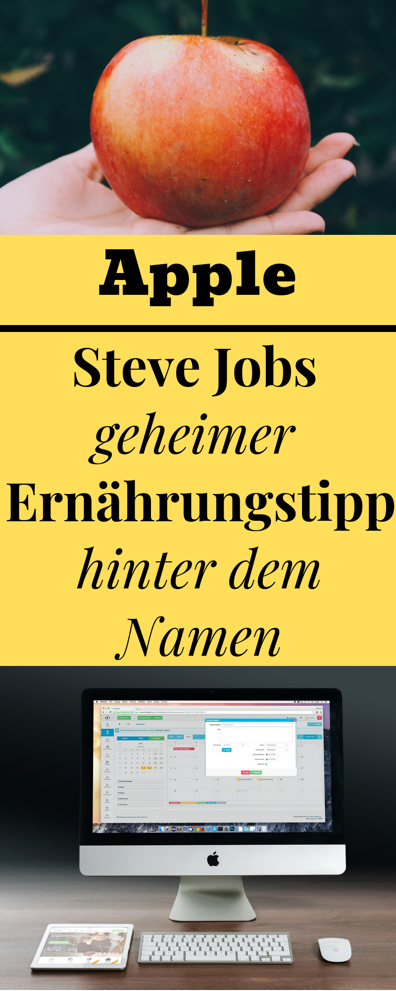Wusstest Du Dass Selbst Steve Jobs Apple Nach Einer Speziellen Ernahrung Benannt Hat Geheimdiat Er Nutrition Jobs Nutrition Meal Plan Pizza Nutrition Facts