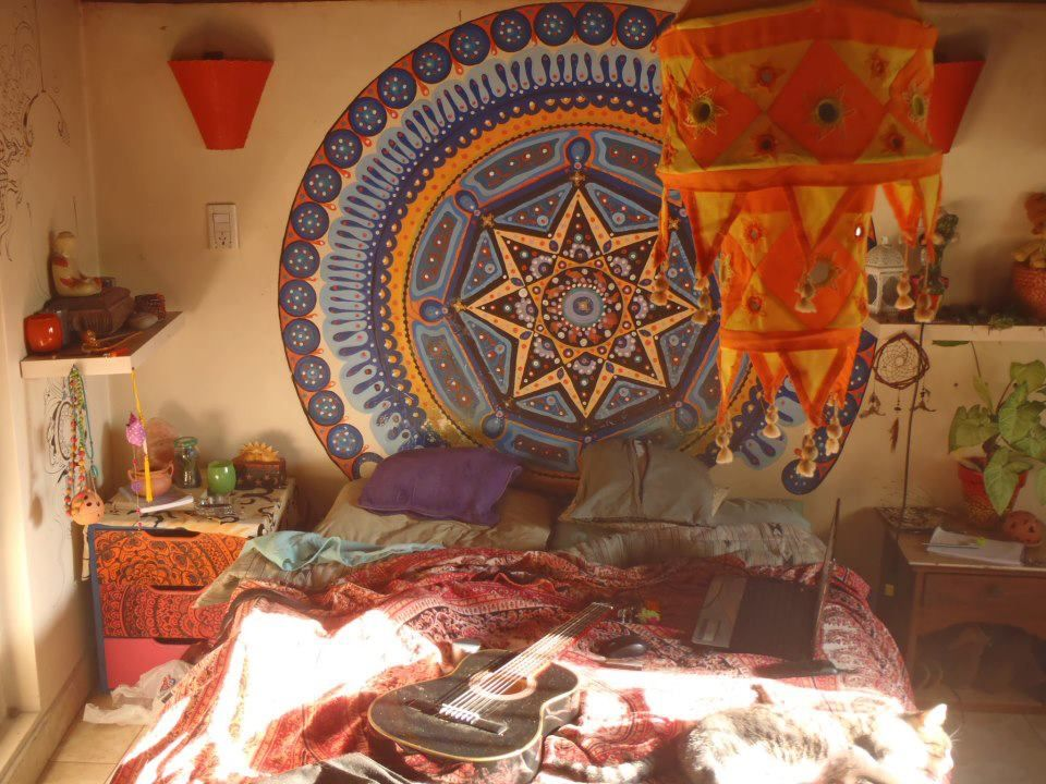 Hippie room design ideas design styles bohemian for Room decorating ideas hippie