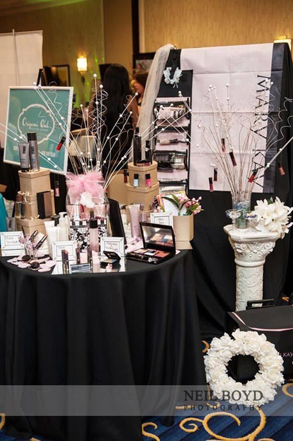 Mary Kay Heather Santos Bridal Show Booth Design Ideas