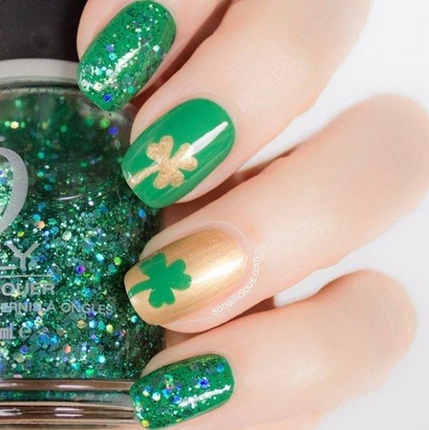 17 St Patrick\'s Day Nail Art for Religious Moments