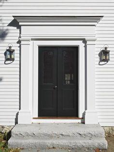 center hall colonial front door - Google Search | Front Door ...