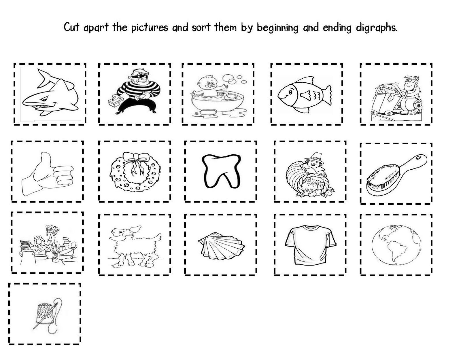 worksheet Digraph Worksheets For First Grade first grade and fabulous treasures digraphs reading digraphs