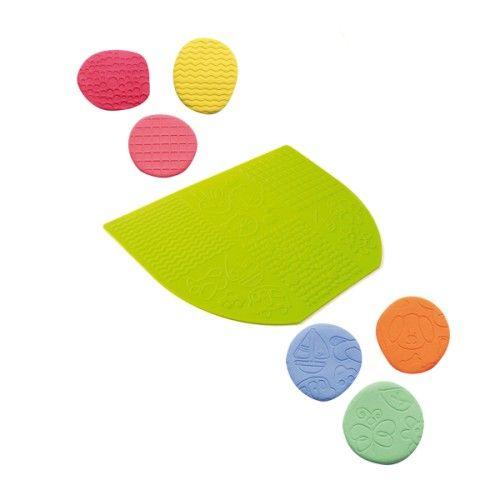 Tapis texturé pour pâte à modeler Oxybul pour enfant de 2 ans à 5 ans - Oxybul éveil et jeux 6€
